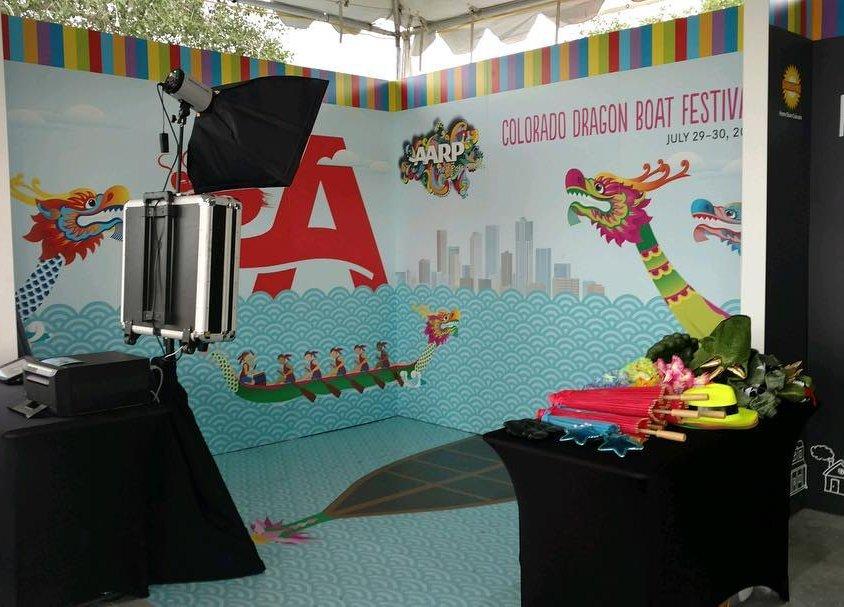 AARP Dragon Boat Festival Denver Photo Booth
