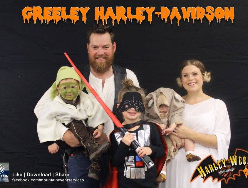 Harley Davidson Photo Booth