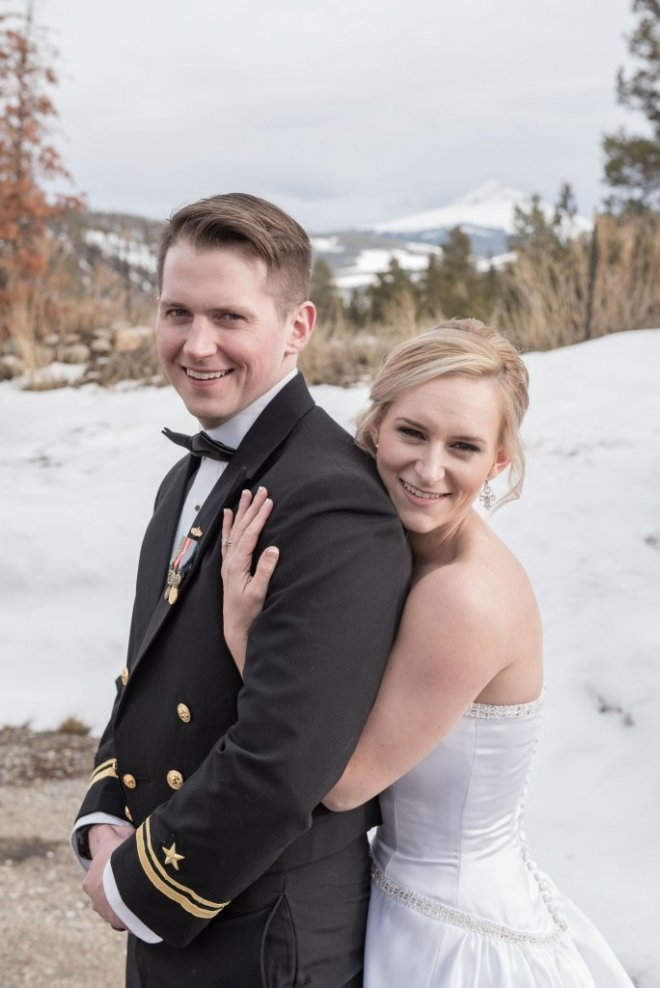 Skye and Christian Breckenridge Wedding at Agape Outpost Happy Couple