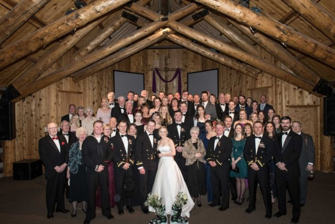 Skye and Christian Breckenridge Wedding at Agape Outpost Group Photo