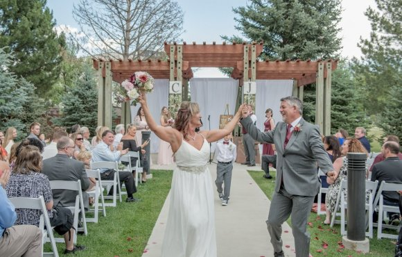Hotel Wedding at Fort Collins Marriott
